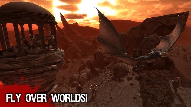 Giant Beast Bat Action 3D screenshot 5