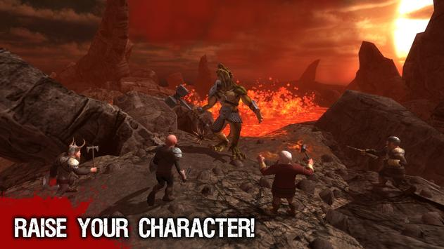Angry Half Dragon Sim 3D poster