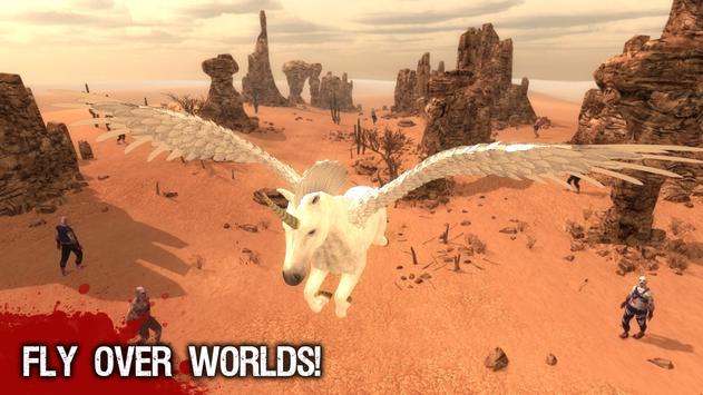 Amazing Pegasus Action 3D screenshot 9