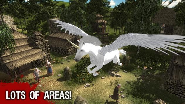 Amazing Pegasus Action 3D screenshot 4