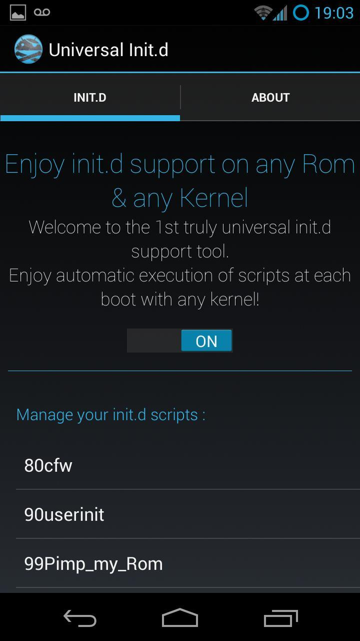 Universal Init d para Android - APK Baixar