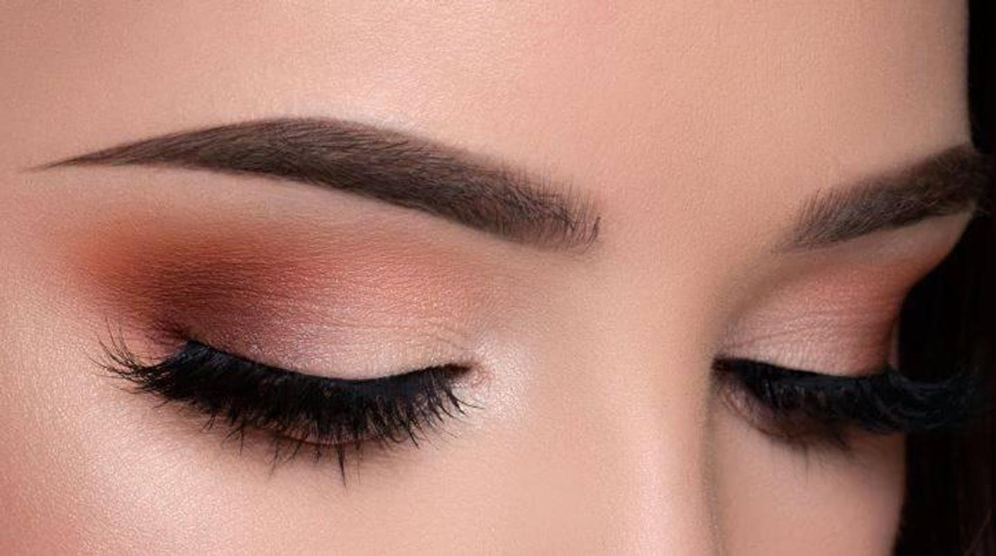 Tutorial makeup eyeshadow coklat