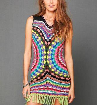 Girl Crochet Fashion 2017 poster