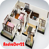 Home Layout 3D icon