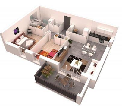 Home Layout 3D screenshot 2
