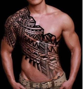 Mens Tattoo poster