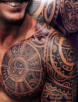 Tribal Tattoo for Men poster