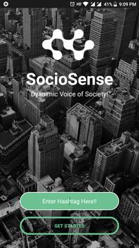 SocioSense - Social Sentimental Analysis poster