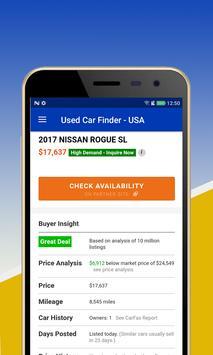 Used Car Finder for USA screenshot 2