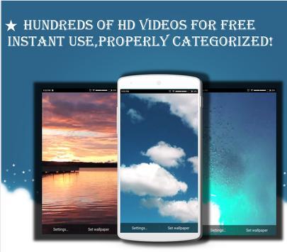 HD Video Live Wallpapers - Wander Live -Motion lp apk screenshot