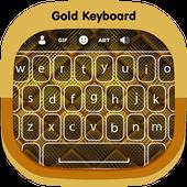 Gold Keyboard icon
