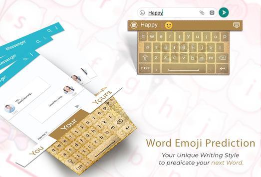 Gold Keyboard screenshot 1