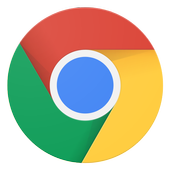 Google Chrome: 高速で安全 アイコン
