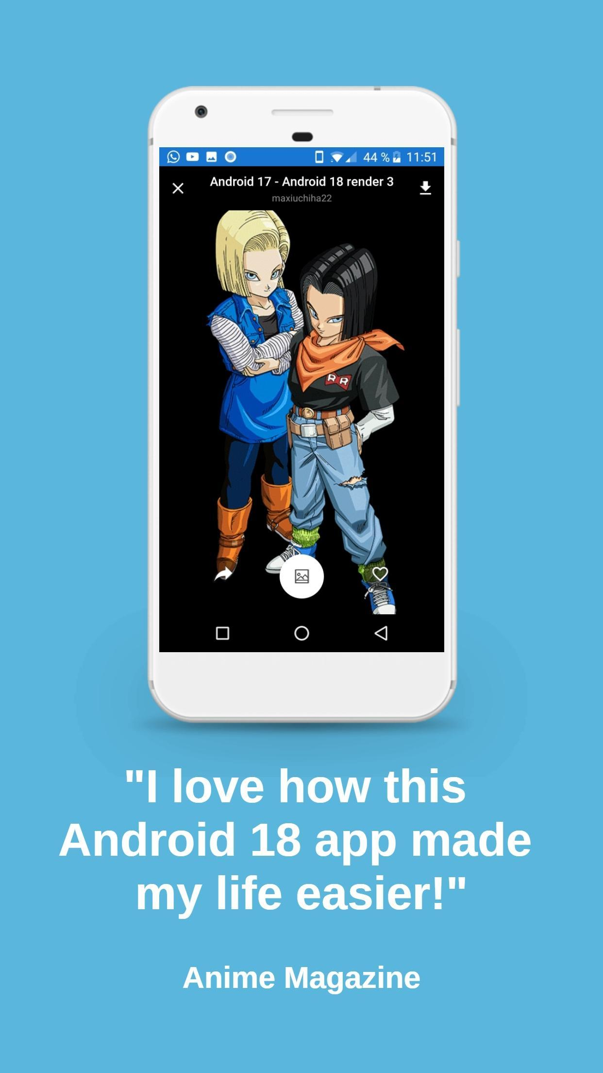 Android 18 Wallpapers For Android Apk Download
