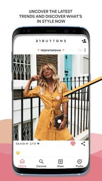 21 Buttons Poster