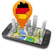 Karten und Navigations 3D icon