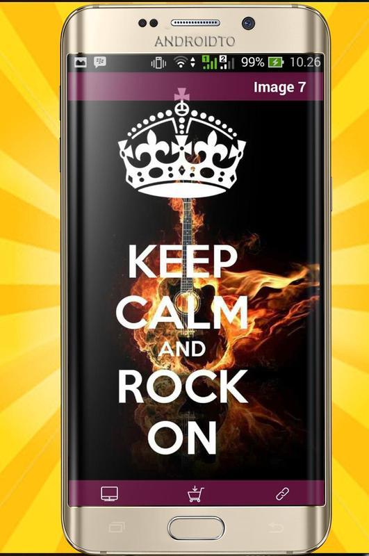 Keep Calm Wallpapers 8K Poster Apk Screenshot