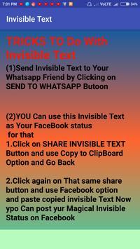 Invisible Text screenshot 3