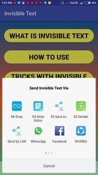 Invisible Text screenshot 2