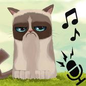 scream cat : Speack & Jump icon
