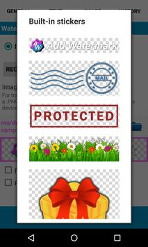 Add Watermark Free apk screenshot