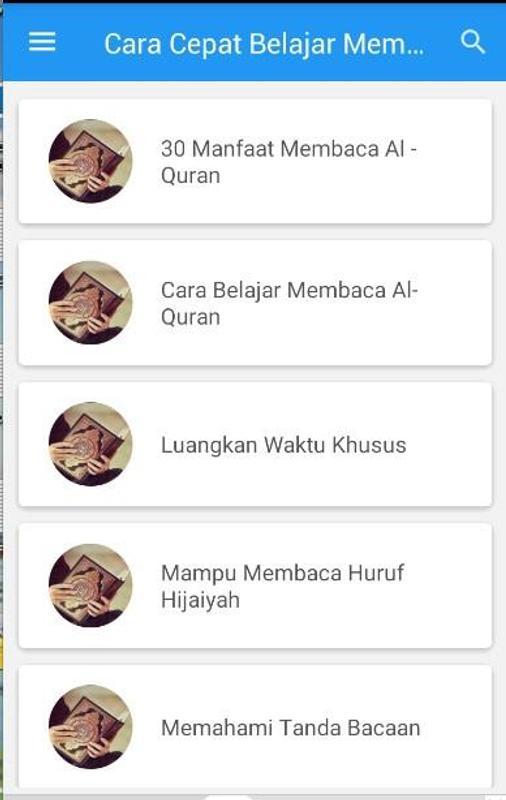 Cara Cepat Belajar Membaca AlQuran Sendiri poster Cara Cepat Belajar Membaca AlQuran Sendiri screenshot 1 ...