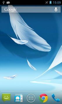 Feather 2 Live Wallpaper apk screenshot