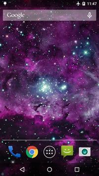 Galaxy Nebula Live WP poster