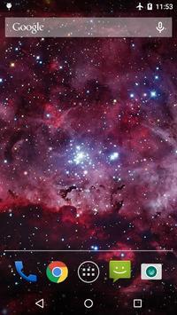 Galaxy Nebula Live WP screenshot 1