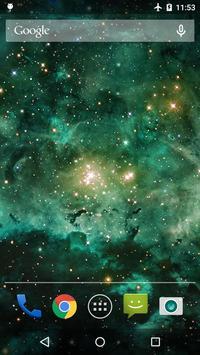 Galaxy Nebula Live WP screenshot 2