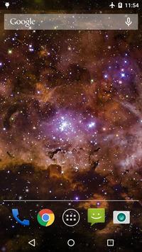 Galaxy Nebula Live WP screenshot 3