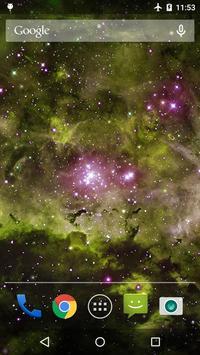 Galaxy Nebula Live WP screenshot 4