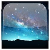 Night Star Live Wallpaper icon