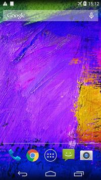 Paint Live Wallpaper apk screenshot