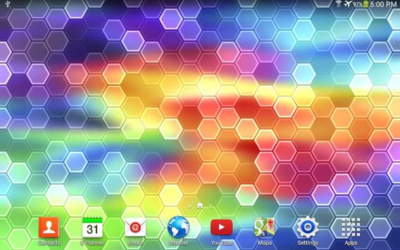 HEX Live Wallpaper apk screenshot