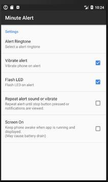 Minute Alert apk screenshot