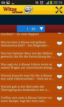 Witze Auf Deutsch screenshot 2