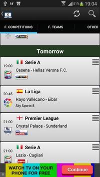 Football on TV Schedule screenshot 1