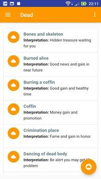 Ancestors Dream Interpretation apk screenshot