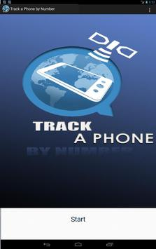 Track a Phone by Number apk screenshot