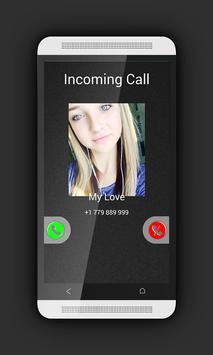 Fake Call Prank - Fake Call 2 poster