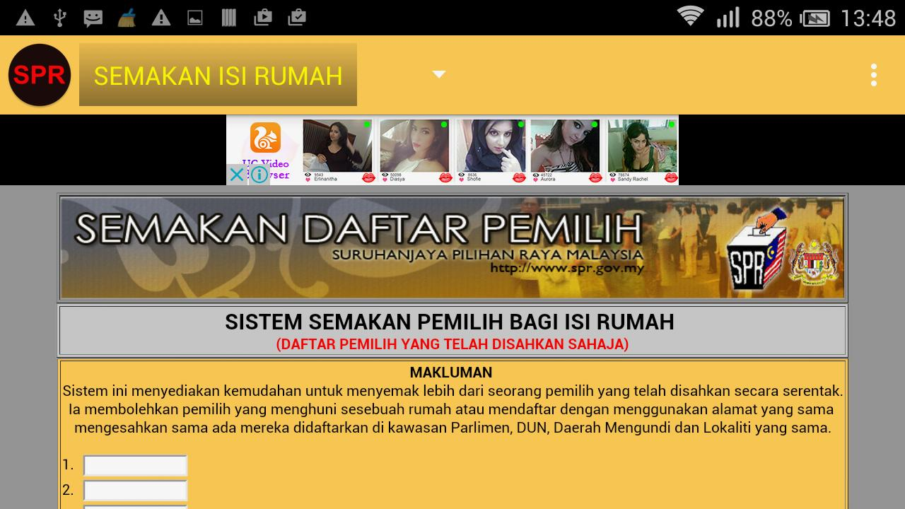 Malaysia Spr Semakan For Android Apk Download
