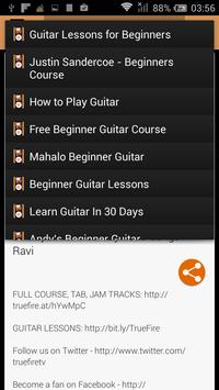 Guitar Learning By Video apk screenshot