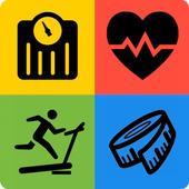 body mass index-icoon