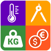 Unit Converter : Smart Tools, Currency Converter icon