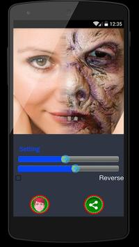 Zombie Face Changer Pro poster