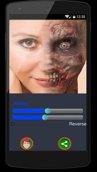 Zombie Face Changer Pro screenshot 2