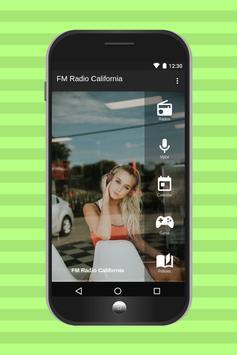 FM Radio California poster