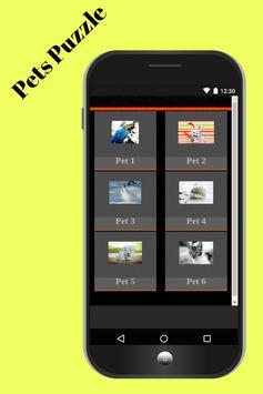Puzzle Pets Games screenshot 1
