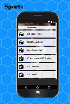 Sports Radio Stations for Free screenshot 1